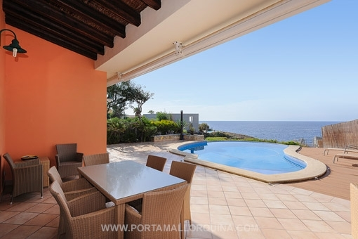 Mediterranean style villa with sea access in Santa Ponsa