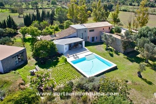Finca with pool in Arta