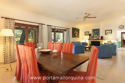 Luxurious living salon