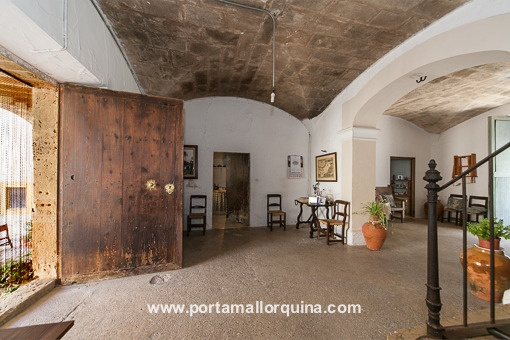 Traditional entrance hall