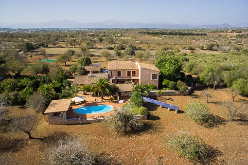 Spacious Finca in Santa Margarita with sweeping views of the surrounding area