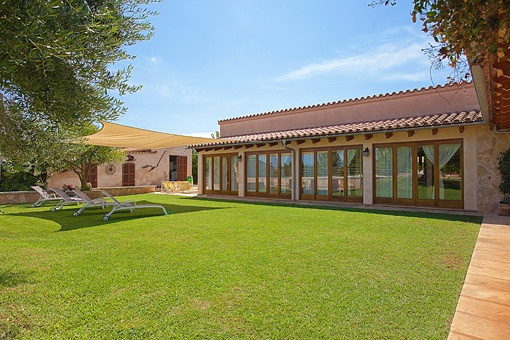 Magnificent finca very near to Muro with great garden and privacy.