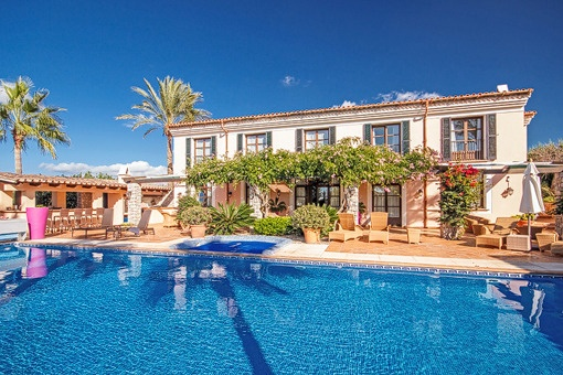 Beautiful villa with a fantastic garden and lots of privacy in Puerto Andratx