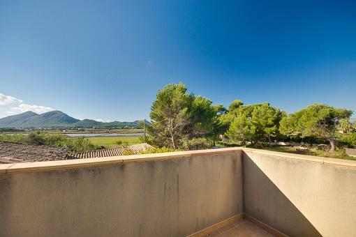 Views over the natura reserve of Albufereta