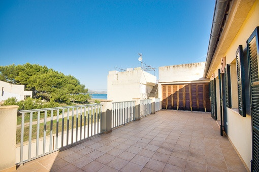 House within the natural reserve of Albufereta with great views over the bay of Pollensa
