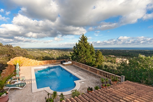Dreamlike villa with panoramic views on the outskirts of S'Horta