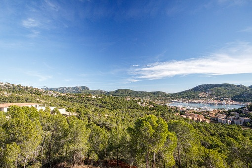 Unique views to the balearic sea