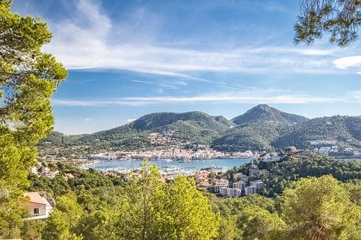 Breath-taking views over the mediterran ocean