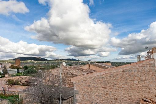 Beautiful views over the Serres de Llevant