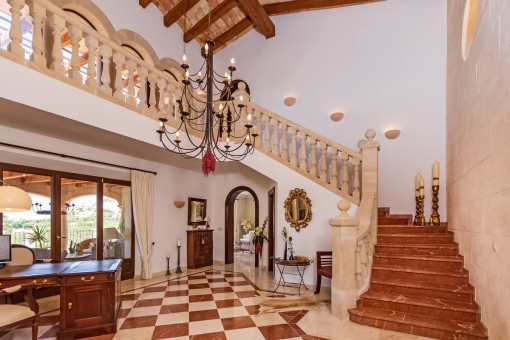 Large entrance hall