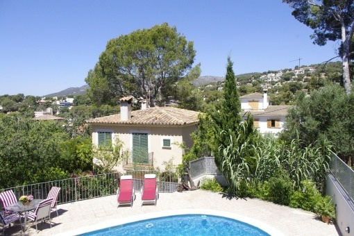 Villa with central heating and pool in Bendinat