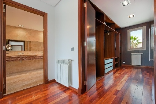 Dressing area of the second master bedroom