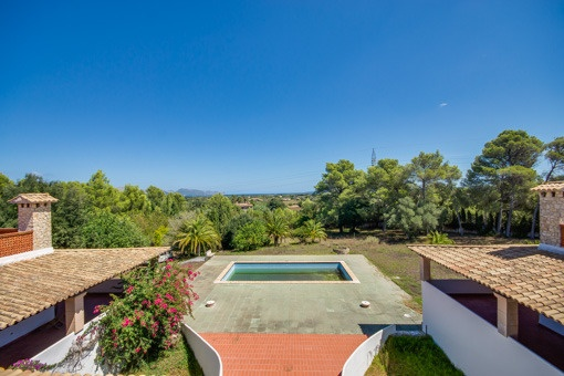 Villa between Alcúdia and Pollença with views to the bay of Pollença and a generous living area