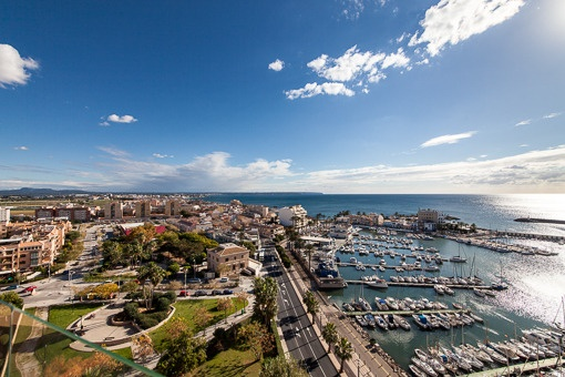 Fantastic bright flat on the 12th floor with stunning sea views - Portixol