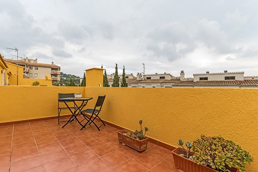 Roof terrace with fantastic views over Portals Nous