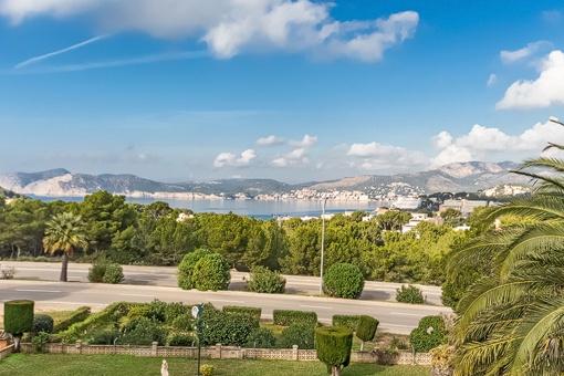 Unique sea views from the villa