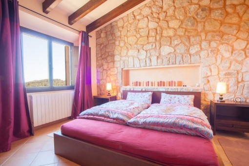 Bedroom with heating