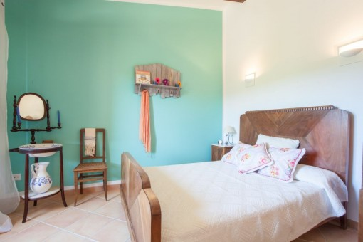 Bedroom with indirect illumination