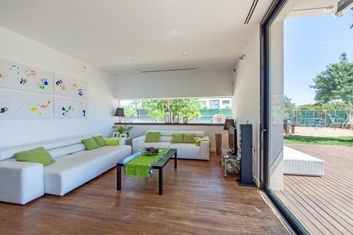 Minimalist Luxury Villa With Pool And Garden In Sa Planera Purchase