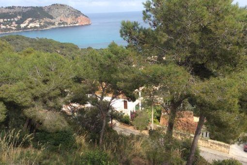 Mediterran sea views from the plot