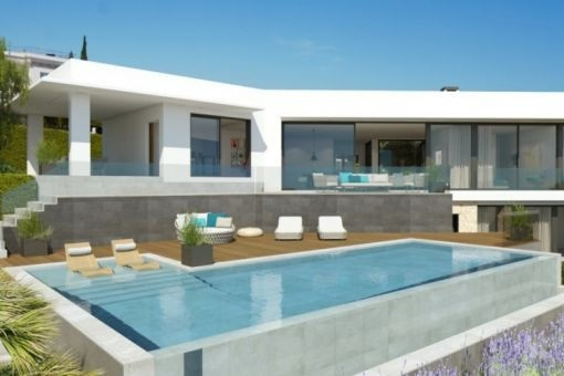 Luxurious villa project in Santa Ponsa