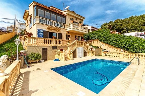 Excellent villa with pool near Portals Nous Village