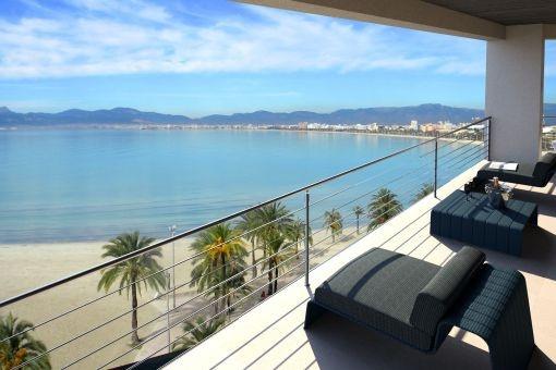 Impressive sea views from the balcony