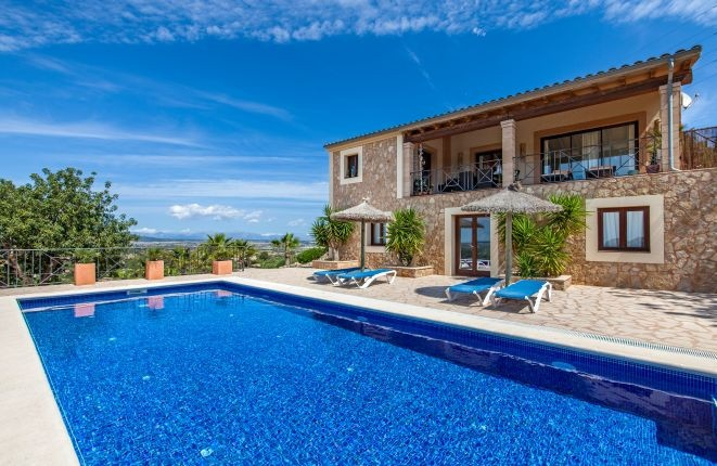 Dream house with panoramic views in Son Macia-