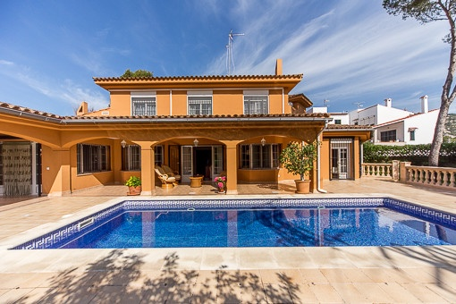 villa in Cala Mayor