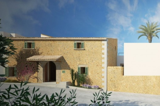 Luxurious new construction in Ses Alqueríes, 20 minutes from Palma, with the possibility of a second house.<br /> <br /> Energy class A