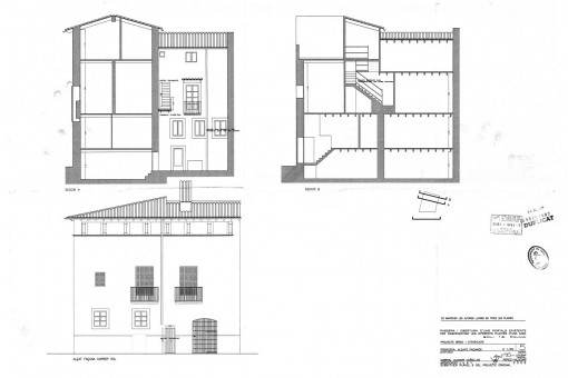 Plan from the front