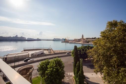 Idyllic harbour views