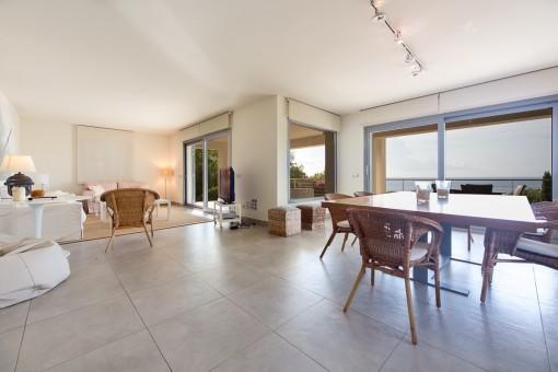 modern villa with impressive sea views in costa de los pinos-purchase