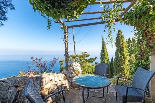 Enchanting sea view terrace