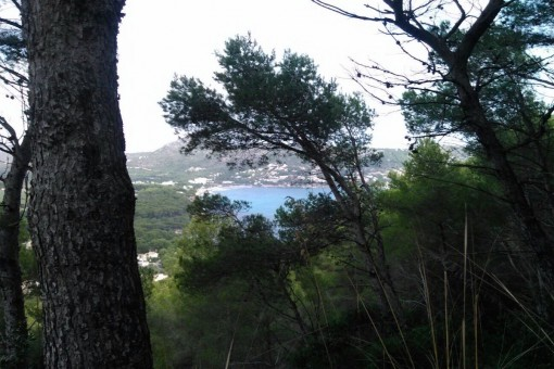 Beautiful building plot in Costa de Canyamel with sea views