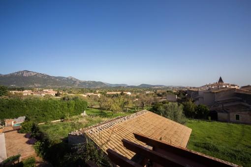 Fantastic views over Moscari