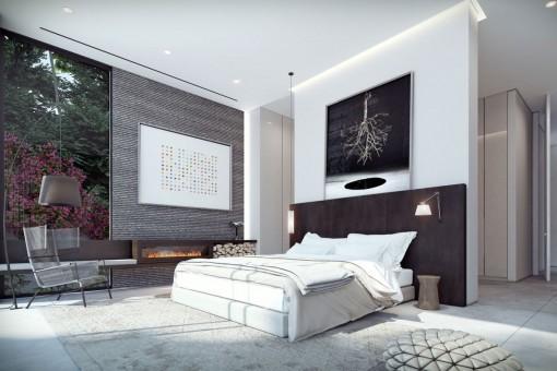schlafzimmer : villa schlafzimmer modern villa schlafzimmer modern, Schlafzimmer entwurf