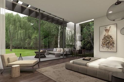 schlafzimmer : villa schlafzimmer modern villa schlafzimmer in, Schlafzimmer ideen