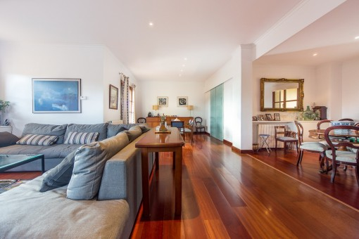 Ample living area