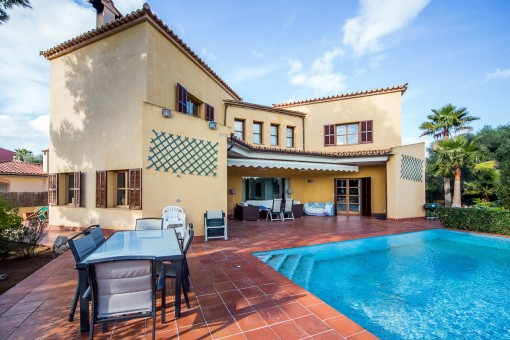 Fantastic villa in quiet location ideal for familys