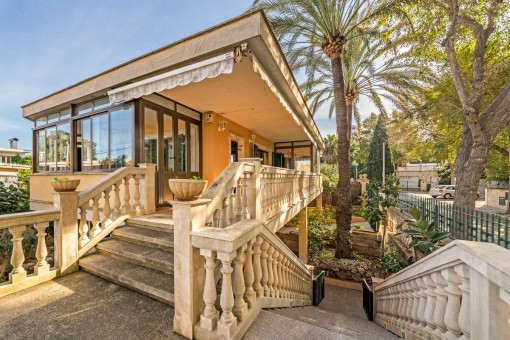 Mediterranean-style villa in Sometimes in the Playa de Palma