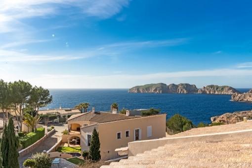 Exclusive views of the mediterranean sea