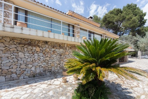 Marvellous finca on a spacious plot with amazing views