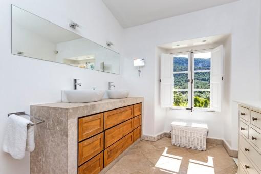 Bathroom with daylight