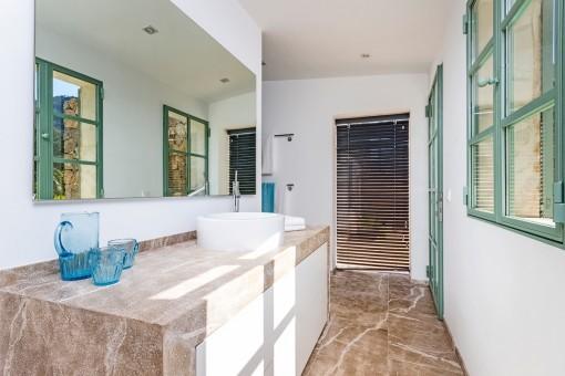 Bathroom from the finca