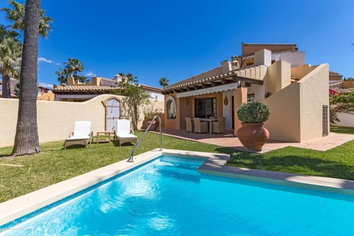 Lovely detached house with lots of privacy on Santa Ponsa golf course