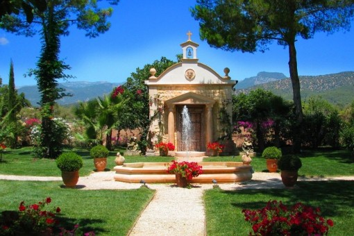 Private chapel in the garden