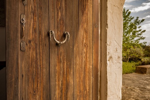 Door from the finca