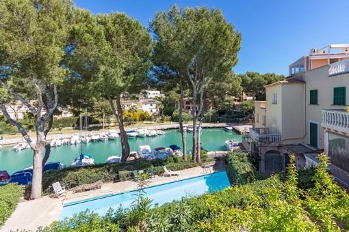 Lovely duplex in quiet community in the port of Santa Ponsa