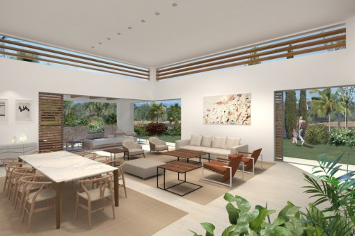 Large, modern newly-constructed villa in Sol de Mallorca-purchase